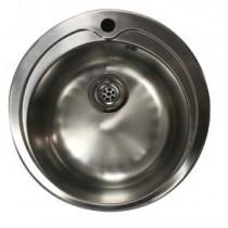 Bac à souder pour plonge, inox AISI 304, ø 448 x H-155 mm
