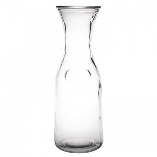 Carafe en verre Olympia 1L, boîte de 6
