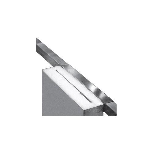 Boîte Coutelière, modèle inox dessus poly, inox AISI 304