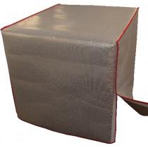 Housse isothermes pour palettes, L 1230 x P 830 x H 1800 mm