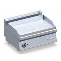FRY-TOP Electrique Plaque LISSE/CHROME, L 800 x P 600 x H 325 mm