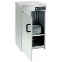 Armoire chauffe-assiettes 1 porte, avec une puissance de 0,4 Kw