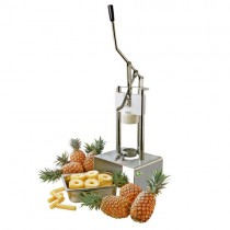 Machine à peler et étrogner l'ananas, simple levier