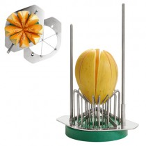 Coupe melon manuel inox, 6 sections