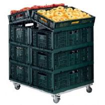 Présentoirs fruits et légumes, modèle FAST 2 et FAST 3