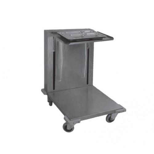 chariot niveaux constant pour plateaux en inox. Black Bedroom Furniture Sets. Home Design Ideas