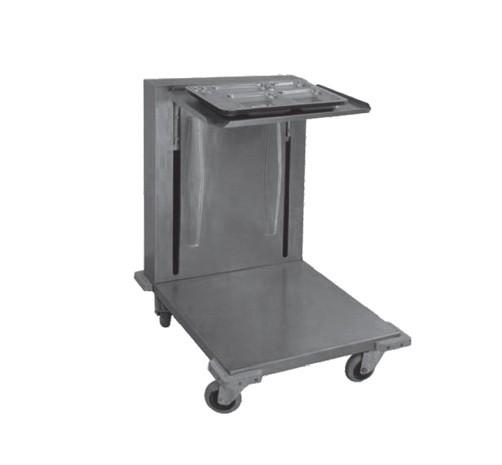 Chariot niveaux constant pour plateaux en inox for Chariot cuisine professionnel