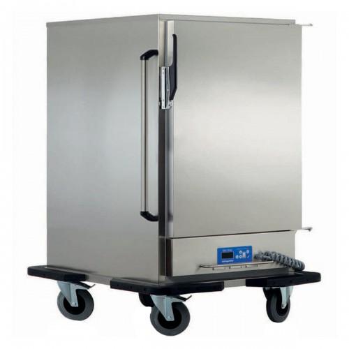 Armoire chauffante glissière emboutie, capacité 5 x GN2/1