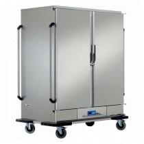 Armoire chauffante glissière emboutie, capacité 2 x 11 GN2/1