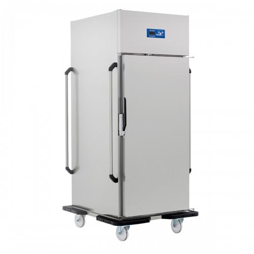 Armoire réfrigérée glissière emboutie, capacité 20 x GN2/1