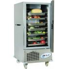 Armoire réfrigérée glissière démontable, en inox, capacité 12 x GN2/1