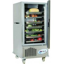 Armoire réfrigérée glissière démontable, capacité 12 x GN2/1