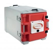 Coffre isotherme avec porte chauffante analogique, type AF12, 1 conteneur sans chariot