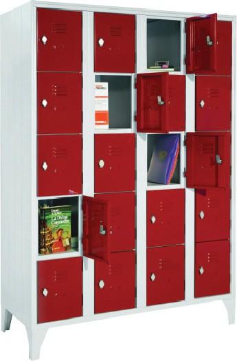 armoires consigne sur pieds 4 colonnes stl sarl. Black Bedroom Furniture Sets. Home Design Ideas