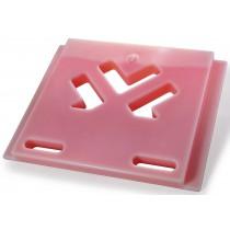 Plaques eutectiques roses (froid +3°C), pour chariot isotherme