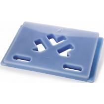 Plaques eutectiques bleues (froid -21°C), pour chariot isotherme ROLL1000EU