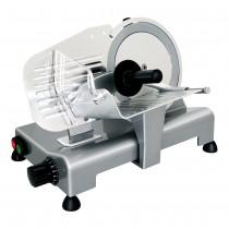Trancheur aluminium à courroie avec protecteur de lame, affûteur amovible, L 490 x P 550 x H 450 mm