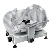 Trancheur aluminium à courroie avec protecteur de lame, affûteur amovible, L 680 x P 515 x H 470 mm