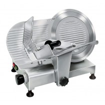 Trancheur aluminium à courroie avec protecteur de lame, affûteur fixe, L 751 x P 594 x H 583 mm