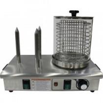 Chauffe-saucisses 3 plots électriques 230 V mono
