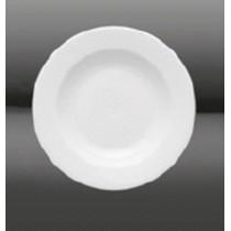 Assiette creuse MILANO D22.5, en porcelaine