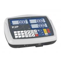 Indicateur pour bascule industrielle, série K2P, L 240 x P 180 x H 105 mm