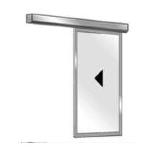 Porte automatique Coulissante L1000 mm, H 2000 mm