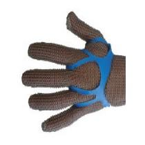 Fixe gant taille médium couleur : bleu (100 pièces)