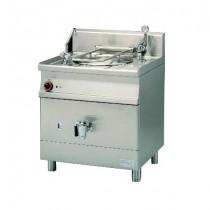 Marmite indirecte électrique, gamme 700, en inox AISI 304, 9 kW