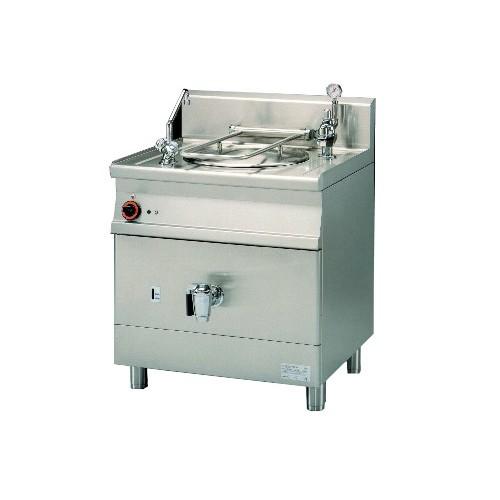 Marmite indirecte électrique, gamme 700, en inox AISI 304, 9 kW, 50 L