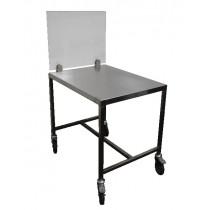 Table support en inox AISI 304 pour trancheur électrique