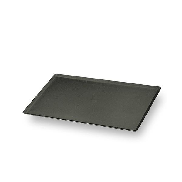 plaque p tissi re en aluminium 15 10 me rev tement t flonn bord pinc s 600 x 400 mm stl. Black Bedroom Furniture Sets. Home Design Ideas