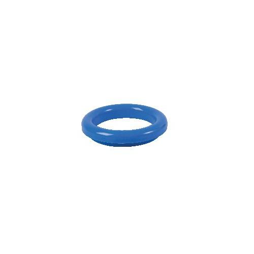 Collerette PVC bleu (RAL 5015) pour TVO inox