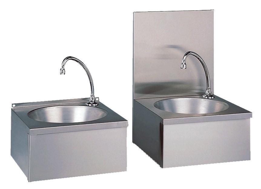 Lave mains cuisine professionnelle en inox cuve ronde for Cuve inox cuisine