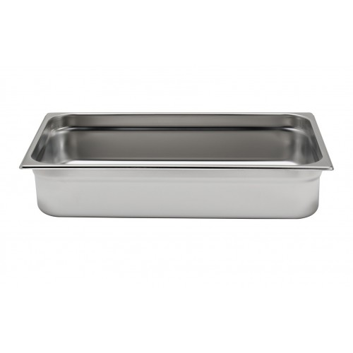 Bac inox cuisine gastronorme gn1 1 plein inox aisi 304 for Bac cuisine inox