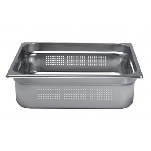Bac inox cuisine gastronorme gn2 3 perfor inox aisi for Bac cuisine inox