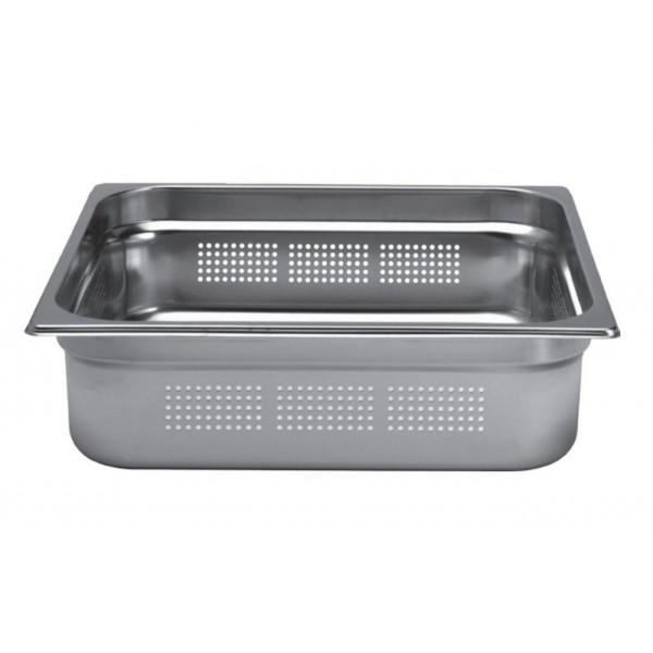 Bac inox cuisine gastronorme gn2 3 perfor inox aisi for Bac inox cuisine