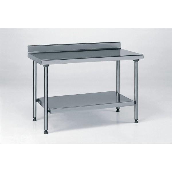 Table inox ts 15n d montable sur mesure dosseret for Dosseret cuisine inox