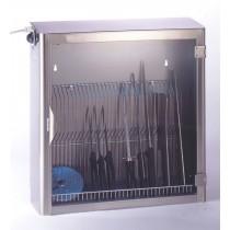 Armoire de stérilisation, 25 couteaux, 1 porte avec grille en fil inox