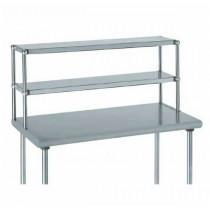 Etagère supérieure pour table L 600 mm, acier inoxydable, 1 niveau , L 600 x l 300 x H 600 mm