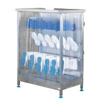 Armoire ventilée modulable, 24 paires, inox, L 1191 x l 622 x H 2390 mm