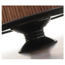 Piedestal cylindrique en mélamine pour plats,  Ø200 mm / 170 x 70 mm