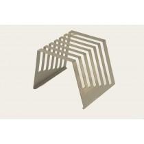Support pour 6 plaques polyéthylène épaisseur 12 mm