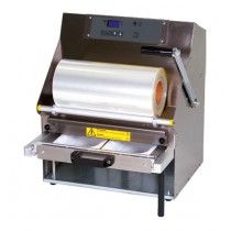 Conditionnement et emballage, operculeuse barquette multiform 5, semi-automatique avec tiroir coulissant