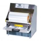 Conditionnement et emballage, operculeuse barquette multiform 4, automatique avec tiroir coulissant