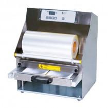 Conditionnement et emballage, operculeuse barquette multiform 5, automatique avec tiroir coulissant