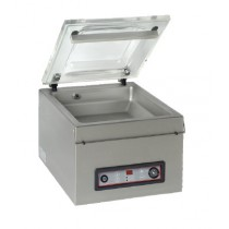 Machine sous vide, inox, 8 m3/h, L 450 x P 45 x H 410 mm