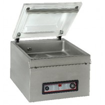 Machine sous vide, inox, 16 m3/h, L 525 x P 480 x H 430 mm
