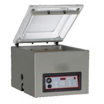 Machine sous vide, inox, 21 m3/h, L 525 x P 480 x H 430 mm