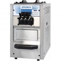 Machine à glace soft et frozen yogurt, à poser, modèle top, 3 Kw, 202 Kg